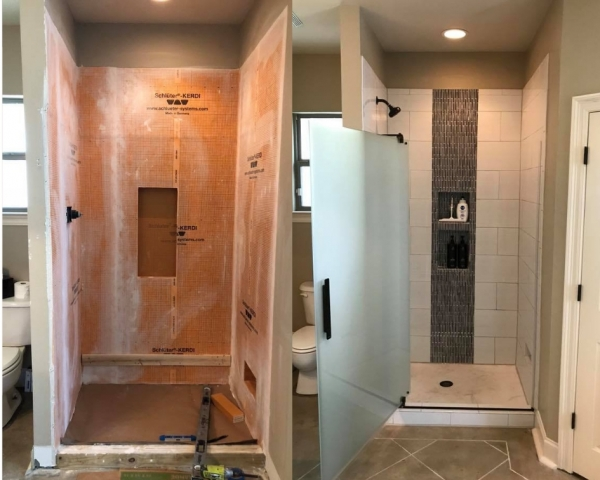 bathroom renovation service complete